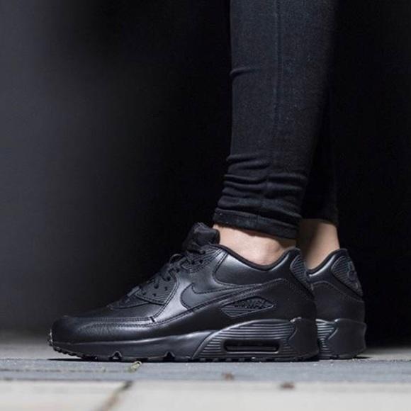 Nike Nike Air Max 90 Ltr (Gs) Negro dvn6p5C